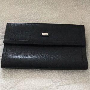 Bally wallet, handheld purse